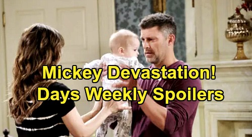 Days of Our Lives Spoilers: Days of Our Lives Spoilers: Week of December 9 – Eric and Sarah Face Mickey Devastation – Ben's Crushing Legal Blow – Kate's Secret