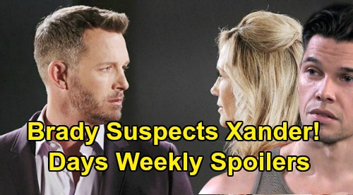 Days of Our Lives Spoilers: Week of January 27 – Deadly Heartbreak for John & Marlena – Brady Suspects Xander – Kate's Confession