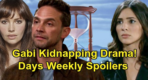 Days of Our Lives Spoilers: Week of June 1 – Gabi Abduction Panics Jake – Claire Gets Gwen's Advice – Xander & Sarah Drama