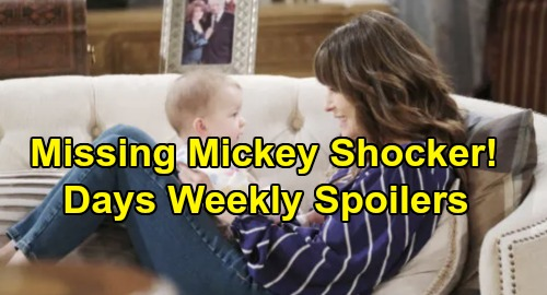 Days of Our Lives Spoilers: Week of November 18 – Ciara Snoops for Proof – Deaths Crush Jennifer - Missing Mickey Leaves Sarah Reeling