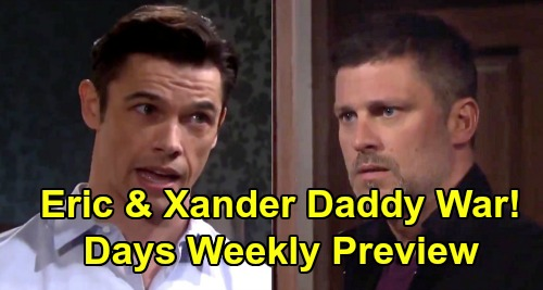 Days of Our Lives Spoilers: Week of November 25 Preview - Eric and Xander Battle Over Daughter Mickey - Big Stefano-Steve Reveal