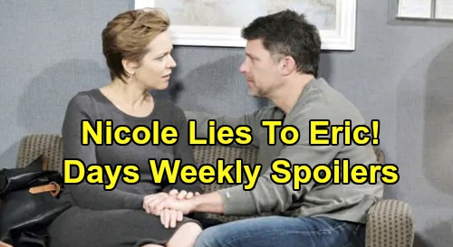 Days of Our Lives Spoilers: Week of October 14 – Nicole Keeps Sarah's Baby Secret – Hope's Wild Outburst – Julie's Discovery