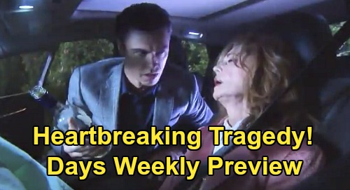 Days of Our Lives Spoilers: Week of February 24-28 Preview – Sonny Goes Ballistic on Maggie – Will Comes Home, 'Wilson' Reunion