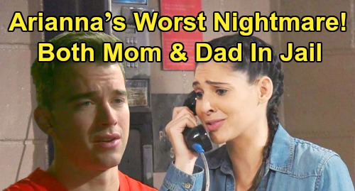 Days of Our Lives Spoilers: Arianna's Worst Nightmare, Gabi Joins Will in Prison – Mom's Arrest Forces Dad to Take Drastic Maggie Action