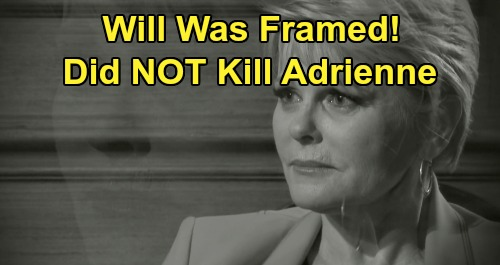 Days of Our Lives Spoilers: Will Framed For Adrienne's Death – He's the Innocent Man Xander and Victor Put in Prison, Not Ben?