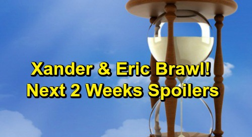 Days of Our Lives Spoilers Next 2 Weeks: Eric and Xander's Vicious Brawl – Chad and Abigail Kiss – Meet Haley's Older Sister