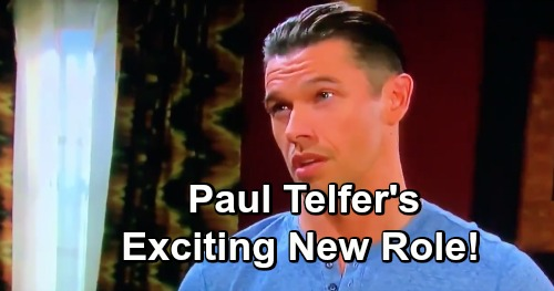 Days of Our Lives Spoilers: Paul Telfer Gets A New Job - Exciting Primetime Role