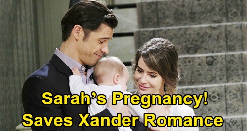 Days of Our Lives Spoilers: Will Sarah's Pregnancy Save Xander Romance – New Baby for 'Xarah' After Mickey Heartbreak?