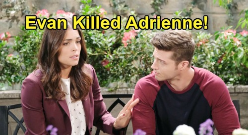 Days of Our Lives Spoilers: Evan Responsible For Adrienne's Death, Confesses To Zoey - Maggie's Innocent?
