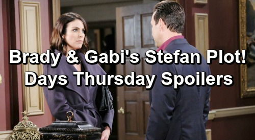 Days of Our Lives Spoilers: Thursday, March 7 – Brady and Gabi Takedown Stefan – Claire and Eve Team Up For Evil