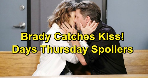 Days of Our Lives Spoilers: Thursday, March 14 – Brady Fumes Over Sarah and Eric's Kiss - Kristen Becomes Part of Diana's Plot