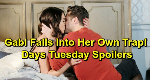 Days of Our Lives Spoilers: Tuesday, April 16 – Eric's Shocking Offer to Sarah and Rex – Gabi's Trap Is Set – Will's Fears Grow