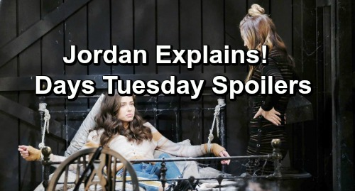 Days of Our Lives Spoilers: Tuesday, February 5 – Jordan's Scheme Stuns Ciara – Chad and Kate's Shocking News