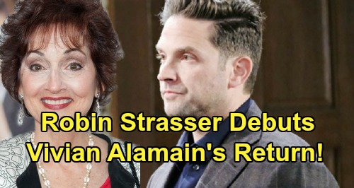 Days of Our Lives Spoilers: Robin Strasser Debuts as Vivian Alamain - First Airdate and Details