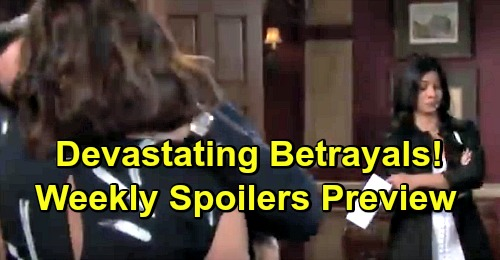 Days of Our Lives Spoilers: Week of March 4 Preview – Devastating Betrayals, Armed Encounters and Risky Partnerships