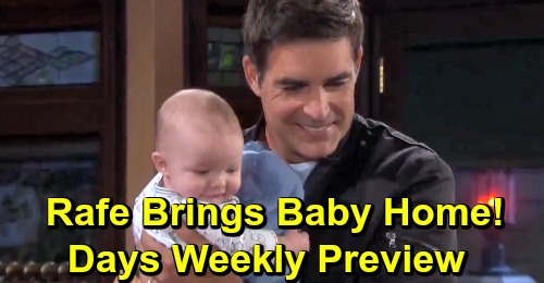 Days of Our Lives Spoilers: Week of April 1 Preview – Dangerous Suspicions, Wedding Shockers and Rafe's New Baby