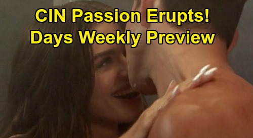 Days of Our Lives Spoilers: Week of March 23 Preview - Ben & Ciara Passion Erupts - Gabi Knocks Abigail Out