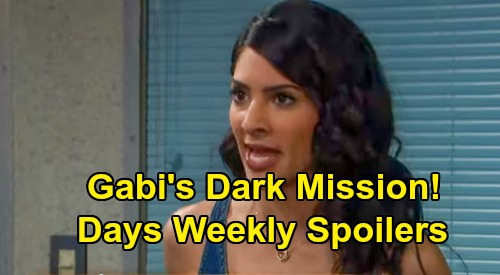 Days of Our Lives Spoilers: Week of October 21 – Gabi's Dark Mission - Brady Hears Baby's Heartbeat, Lands in Kristen's Bed