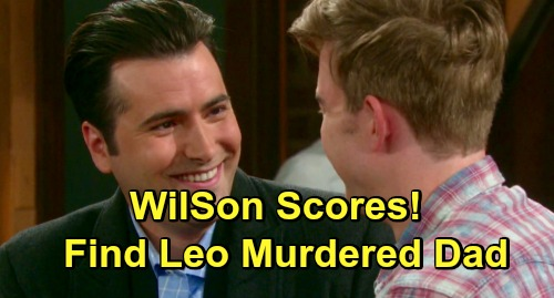 Days of Our Lives Spoilers: WilSon Break Into Diana's Hotel Room - Discover Leo Murdered Mr. Cooper