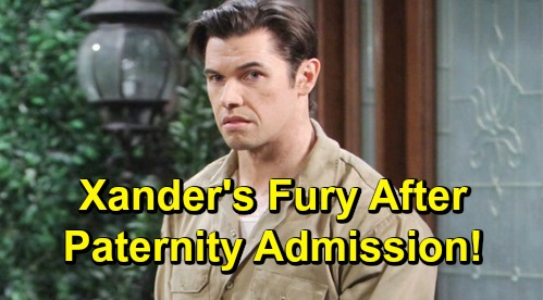 Days of Our Lives Spoilers: Nicole Faces Xander's Fury After Paternity Admission – Fears Eric & Sarah Will Reunite Over Mickey
