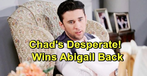 Days of Our Lives Spoilers: Chad's Desperate Chabby Reunion Mission Begins – Special Family Surprise for Abigail
