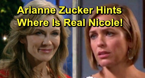 Days of Our Lives Spoilers: Arianne Zucker Hints at Real Nicole's Whereabouts – Shocking Kristen Revelations Ahead
