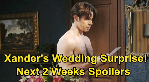 Days of Our Lives Spoilers Next 2 Weeks: Eric Threatens to Kill Xander – Steve & Justin Battle for Kayla's Heart - Sarah's Breakdown