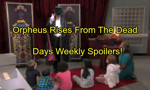 Days of Our Lives Spoilers: Orpheus Rises From The Dead for Halloween Horror, Kayla and Marlena Kidnapped in Evil Magic Trick