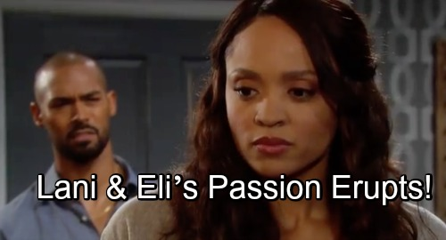 Days of Our Lives Spoilers: Jealous Rage Leads to Steamy Kiss, New Romantic Path - Lani and Eli's Passion Erupts