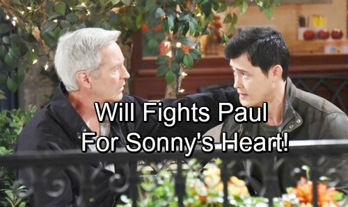 Days of Our Lives Spoilers: Amnesia Can't Erase True Love – Will Battles Paul for Sonny's Heart