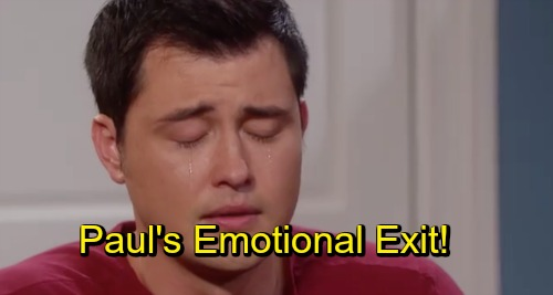 Days of Our Lives Spoilers: Paul's Emotional Goodbye - Leaves Salem With Hunky Escort