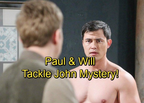Days of Our Lives Spoilers: Will and Paul Team Up to Solve John Mystery – Why He's Poisoning Steve