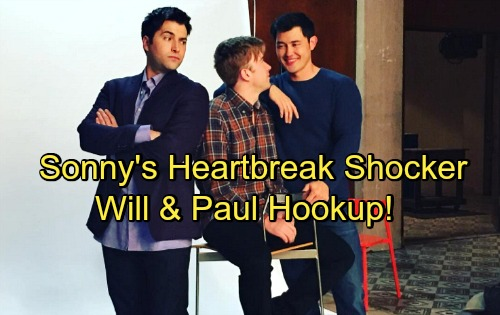 Days of Our Lives Spoilers: Will Plants a Kiss on Paul – Shocking Twist Sets Up Heartbreak for Sonny