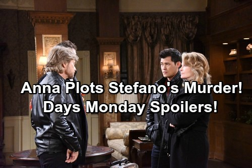 Days of Our Lives Spoilers: Anna Plots Stefano's Murder, Has Wild Encounter with Marlena – Hattie Warns Hope She's Not Safe