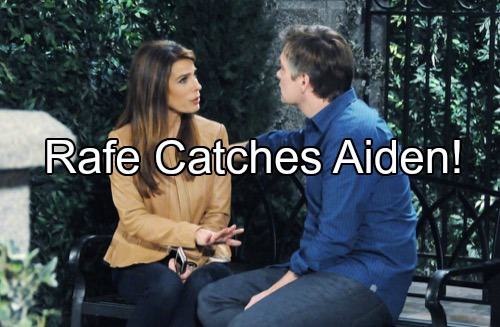 'Days of Our Lives' Spoilers: Blanca Wants Rafe – Rafe Finds Bombshell Evidence Against Aiden, Knows He's Dirty