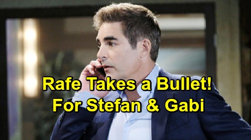 Days of Our Lives Spoilers: Preview Video - Rafe Takes a Bullet for Gabi and Stefan – Paramedics Rush to Save Bleeding Hero
