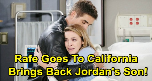 Days of Our Lives Spoilers: Rafe Finds Jordan's Secret Baby in California – Brings Son David Back to Salem