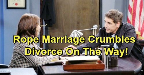 Days of Our Lives Spoilers: Ted Declares His Love To Hope - Marriage To Rafe Crumbles, Ends In Divorce?