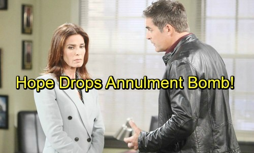 Days of Our Lives Spoilers: Hope Drops Annulment Bomb – Rocked Rafe Fights for Love