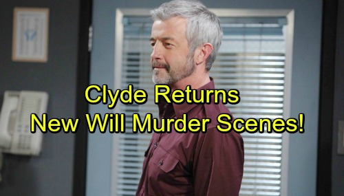 Days of Our Lives Spoilers: James Read Back as Clyde - October 5 Flashbacks Reveal New Will Murder Details