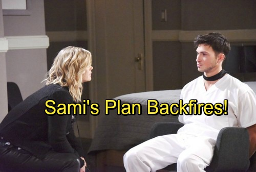 Days of Our Lives Spoilers: Sami's Crazy Plan Backfires, Will's Rage Erupts – Terrible News Leaves Mom Devastated