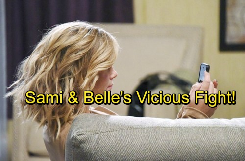 Days of Our Lives Spoilers: Belle Faces Sami's Wrath - Shocking Sister Battle Ahead – See What Sparks the Conflict
