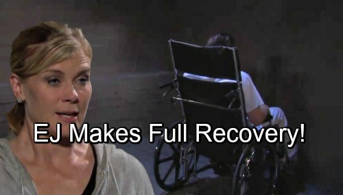 Days of Our Lives Spoilers: Sami Helps EJ Make a Full Recovery – EJami Love Endures As Bandages Removed