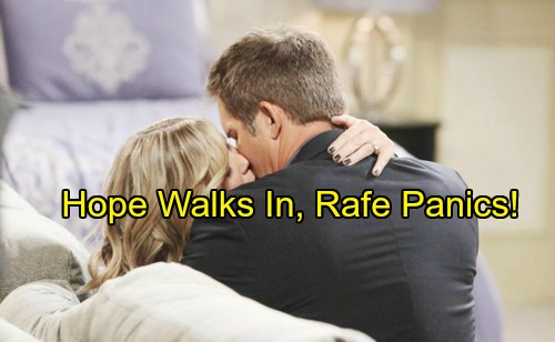 Days of Our Lives Spoilers: Hope Walks In On Rafe and Sami in Bed Together – Panicked Rafe Hides