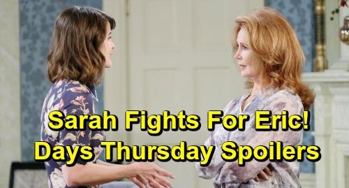 Days of Our Lives Spoilers: Thursday, December 6 – Lucas' News Rocks Chloe – Lani Faces Her Feelings for Eli – Sarah Steps Up for Eric