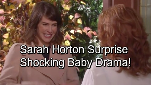 Days of Our Lives Spoilers: Sarah Horton Back and Engaged To Rex - But Baby Daddy Drama Explodes