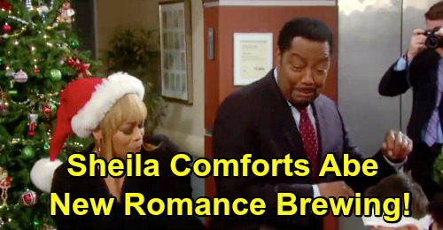 Days of Our Lives Spoilers: Sheila Comforts Abe Over The Holidays - Misses Valerie, Gets Sheila Instead