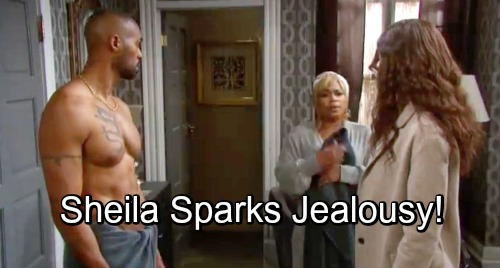 Days of Our Lives Spoilers: Lani Can't Fight Her Feelings For Eli - Jealousy Over Sheila Brings Pair Together