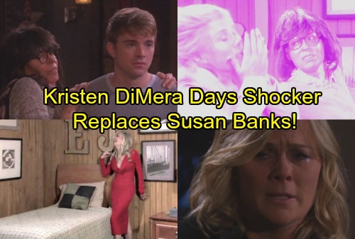 Days of Our Lives Spoilers: Kristen DiMera Visits Susan and Takes Her Place - Viciously Attacks Sami