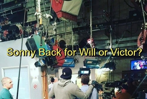 Days of Our Lives Spoilers: Sonny Back for Ailing Victor or Will's Return From The Dead - Set Pic Gives Storyline Clues!